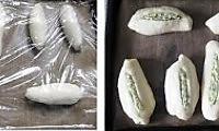 西洋香菜鲜奶面包的做法图解5