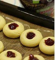 红莓果酱饼干的做法图解3