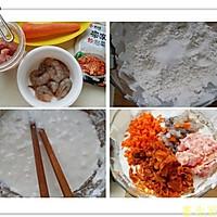 泡菜海鲜煎饼的做法图解1