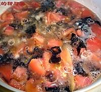 番茄丝瓜肉丸汤的做法图解1