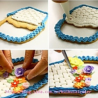 花蓝翻糖饼干的做法图解11