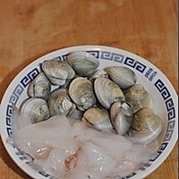 海鲜炒米粉的做法图解4