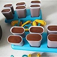 奶油巧克力冰棒的做法图解4