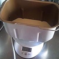 面包机版直接法北海道吐司的做法图解2