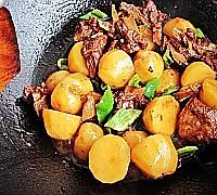 经典家常菜---排骨烧土豆的做法图解15