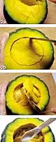 面酱排骨瓤小南瓜的做法图解2