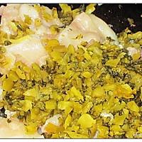 黑鱼咸菜毛豆浇面的做法图解6