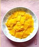 椰奶金丝南瓜冻的做法图解1