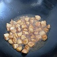 西兰花炒鸡丁的做法图解5