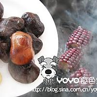 红蘑虾皮玉米汤的做法图解2
