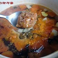 番茄丝瓜肉丸汤的做法图解3