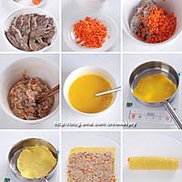 鲜虾蛋卷的做法图解1