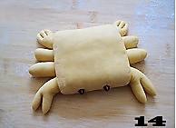 螃蟹南瓜包的做法图解14