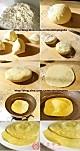香菇鸡肉粥+烤牛肉卷饼的做法图解1