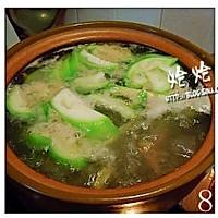 丝瓜猪肝瘦肉汤的做法图解8