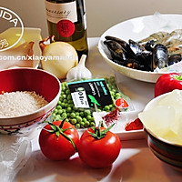 西班牙海鲜饭 Seafood Paella的做法图解1