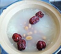 补血养颜粥-花生杏仁红枣粥的做法图解6