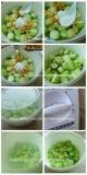 蒜香开洋蒸丝瓜的做法图解3