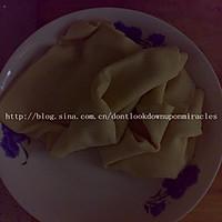 干豆腐肉卷的做法图解1