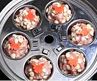 杏仁糯米猪肉丸子的做法图解4