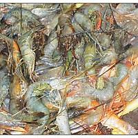葱爆河虾的做法图解4