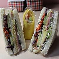蛋黄酱三明治的做法图解7