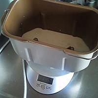 面包机版直接法北海道吐司的做法图解1
