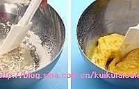 双色抹茶蛋糕卷的做法图解2