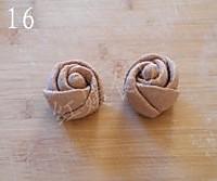 玫瑰花馒头的做法图解16
