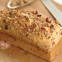 格兰诺拉麦片面包的做法图解12