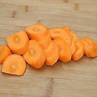 胡萝卜泥的做法图解1