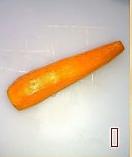 蓑衣胡萝卜的做法图解1
