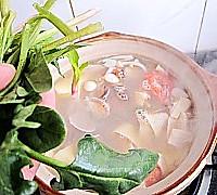 蛤蜊海鲜汤的做法图解12
