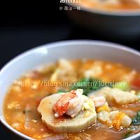 秘制杂锦疙瘩汤的做法图解13