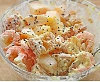水果虾仁油条沙拉的做法图解6