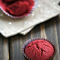 红丝绒杯子蛋糕的做法图解5
