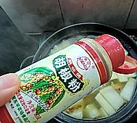 白萝卜煲牛肉的做法图解11