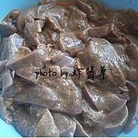 蒜苗炒猪肝的做法图解5