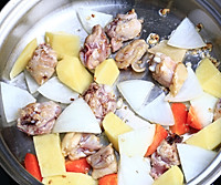 咖喱鸡腿土豆饭的做法图解3