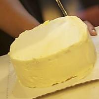 奶油蛋糕简易抹平方法的做法图解6