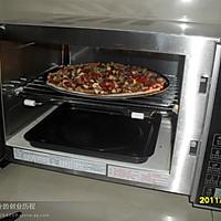 我用微波炉做比萨的做法图解5