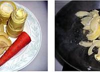 酱牛肉烧笋片的做法图解1