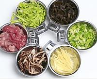 香菇瘦肉粥的做法图解1