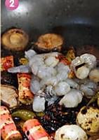 香辣水煮海味鲜蔬的做法图解6
