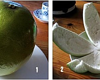 素烧柚子瓤的做法图解1