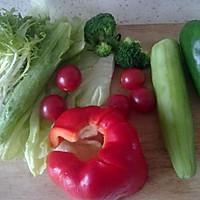 满园春色关不住-----杏仁蔬菜沙拉的做法图解2