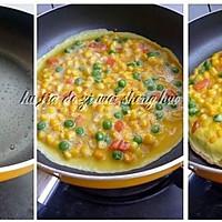 杂蔬蛋饼的做法图解3