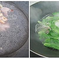 冬菇鹌鹑汤浸芥菜仔的做法图解2