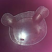 轻松熊造型的小慕斯的做法图解1