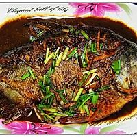 红烧鳊鱼的做法图解11